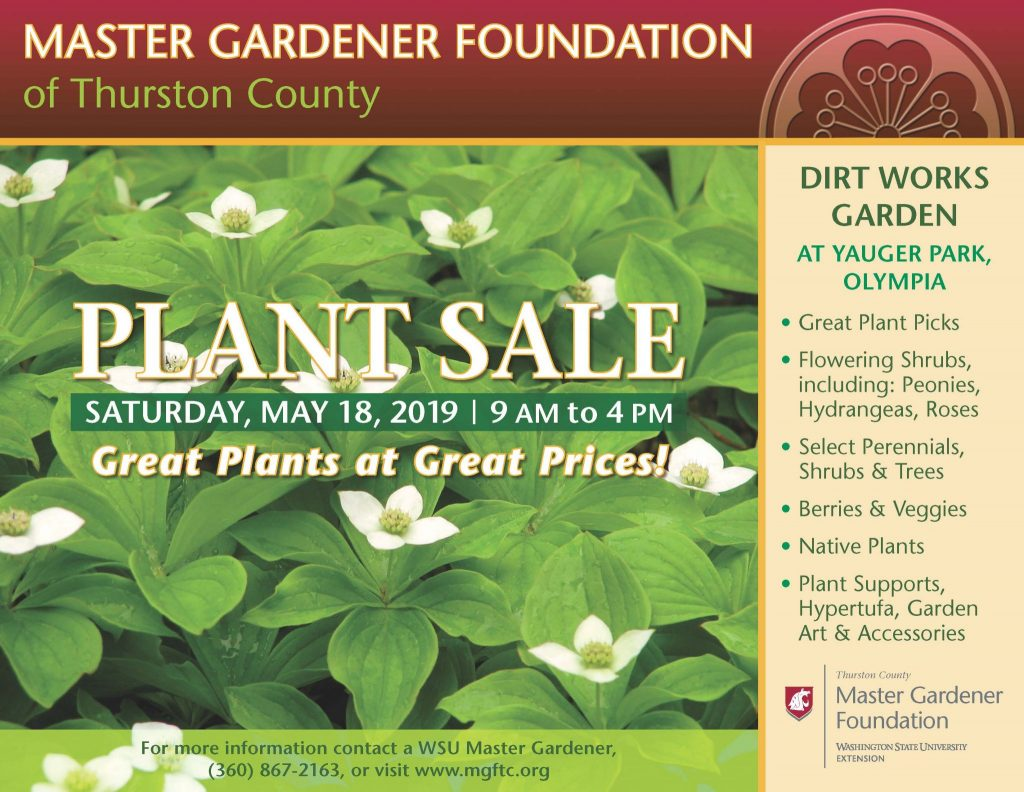 Plant Sale Master Gardener Foundation Of Thurston County